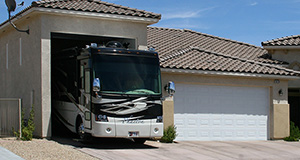 Custom RV Garage